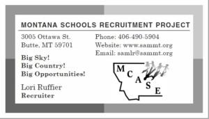 Montana Recruitment Project